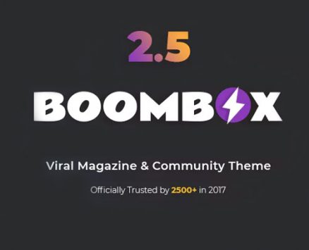 BoomBox – Viral Magazine WordPress Theme