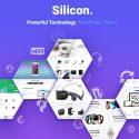 Silicon – Startup and Technology WordPress Theme