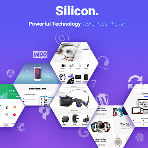 Silicon – Startup and Technology WordPress Theme