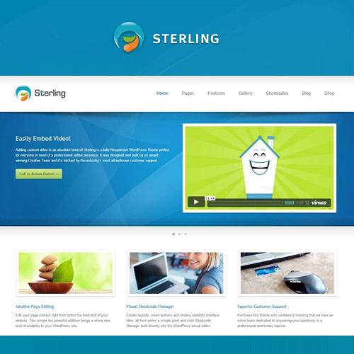 Sterling - Tema WordPress Responsif