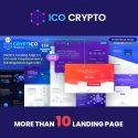 Cryptico – ICO Crypto Landing & Cryptocurrency WordPress Theme
