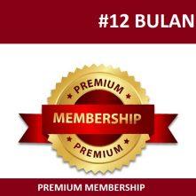 Premium Membership 12 Bulan